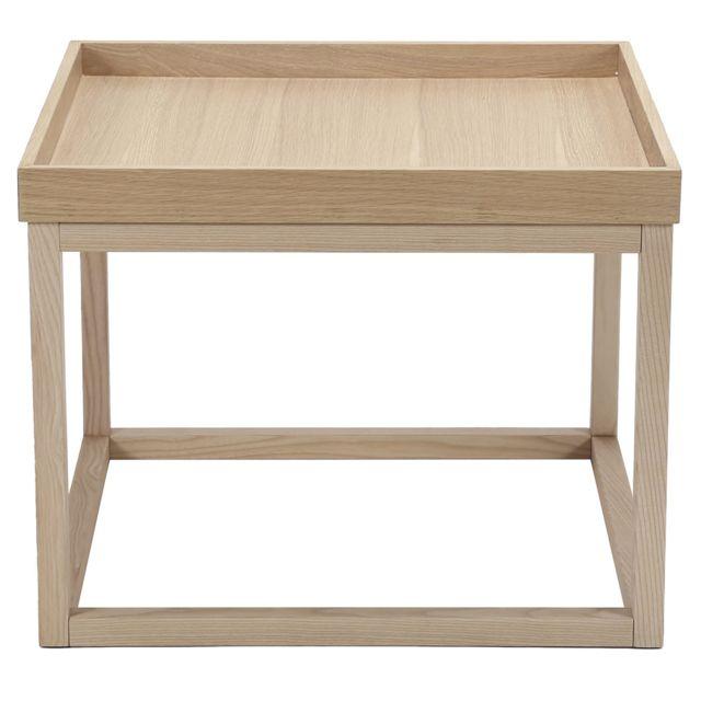 Comforium Tables Basse Design Avec Plateau Amovible En Bois Mdf