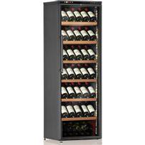 Calice - Cave à vin de service - 1 temp 108 bouteilles - Noir Aci-cal208P - Pose libre