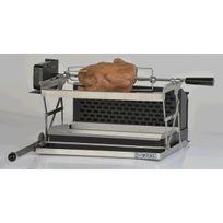 M Fog - Kit rôtissoire pour barbecue