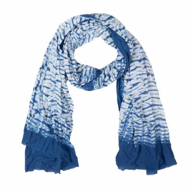 Zen Ethic - Etole Tie   Dye Shibori - Voile de coton - pas cher ... 086db401839