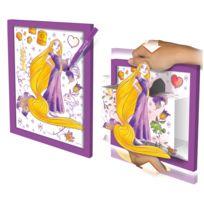 Lansay - Coloriage et tableau 3D Princesse Disney : Raiponce