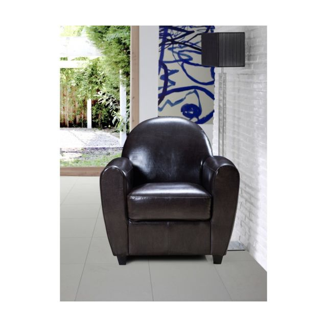 Rocambolesk Fauteuil catia bycast brown