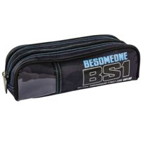 BESOMEONE - Trousse double - 22 cm - Camouflage - Primaire