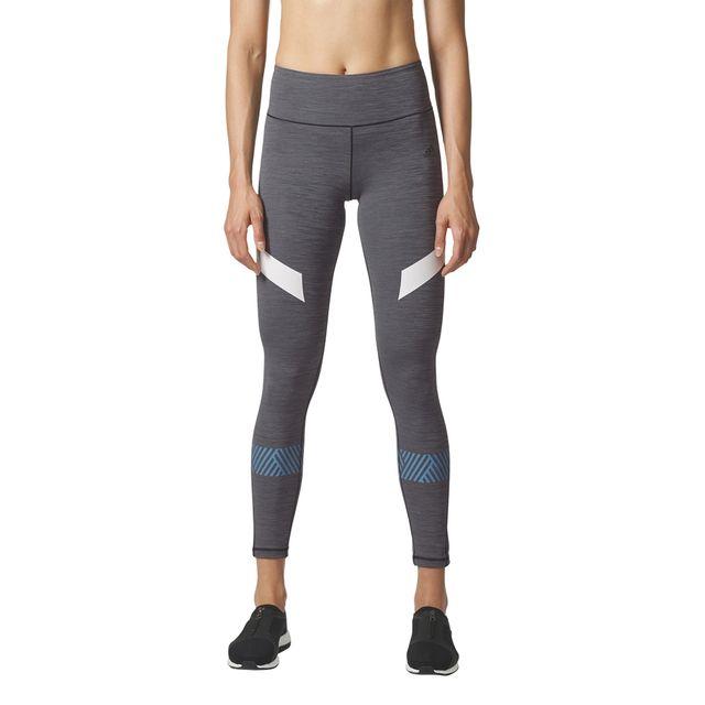 adidas performance legging ultimate tight gris pas cher achat vente leggings treggings. Black Bedroom Furniture Sets. Home Design Ideas