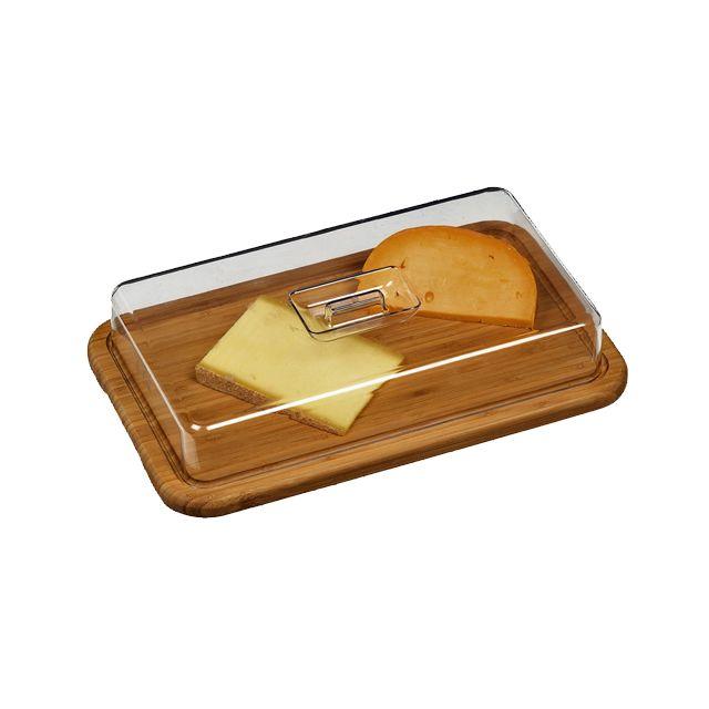 Cloche à Fromage En Bambou 00116