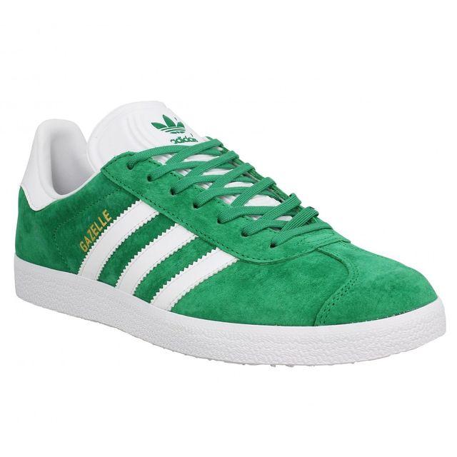 Adidas - Gazelle Homme-41 1/3-Vert