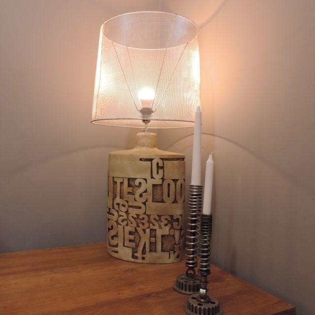 Wanda Collection Lampe à poser déco industrielle 90cm