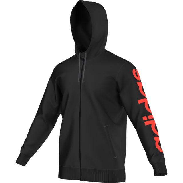 Adidas À Capuche Zippé Essentiels Shirt Performance Sweat wxw8F