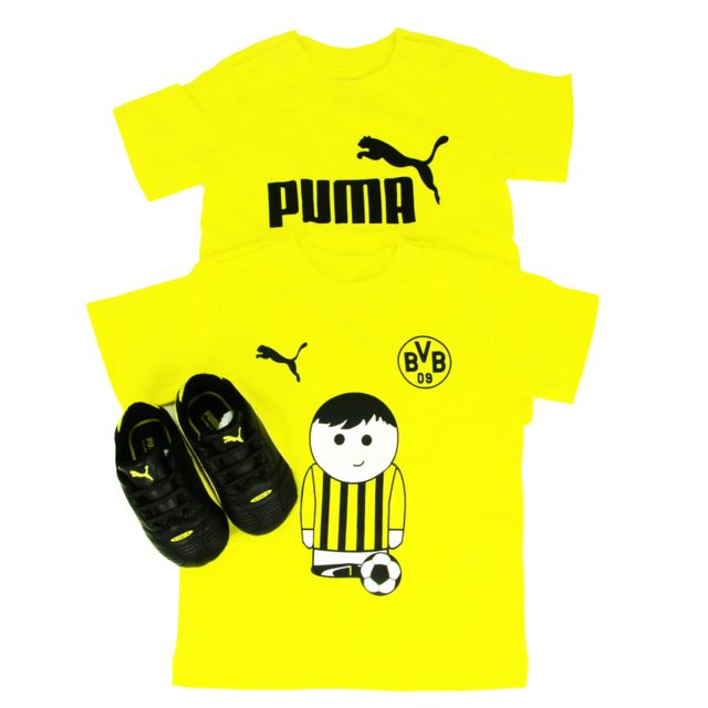 Puma King T De Bvb Football Shirt Pack Et Chaussures Enfant Finale mv8n0Nw