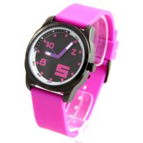 Dream Femme - Montre Femme Silicone Violet Dream Citizen 1838