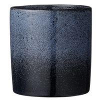 Bloomingville - Cache Pot en Terre Cuite 14 cm Bleu Navy