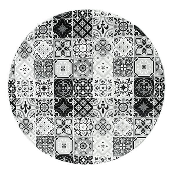 mon beau tapis tapis carreaux de ciment noir pas cher achat vente tapis rueducommerce. Black Bedroom Furniture Sets. Home Design Ideas