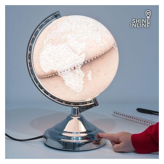 Planète Terre Terrestre Globe Lumineux Lampe Tactile Planisphere WEIHD29
