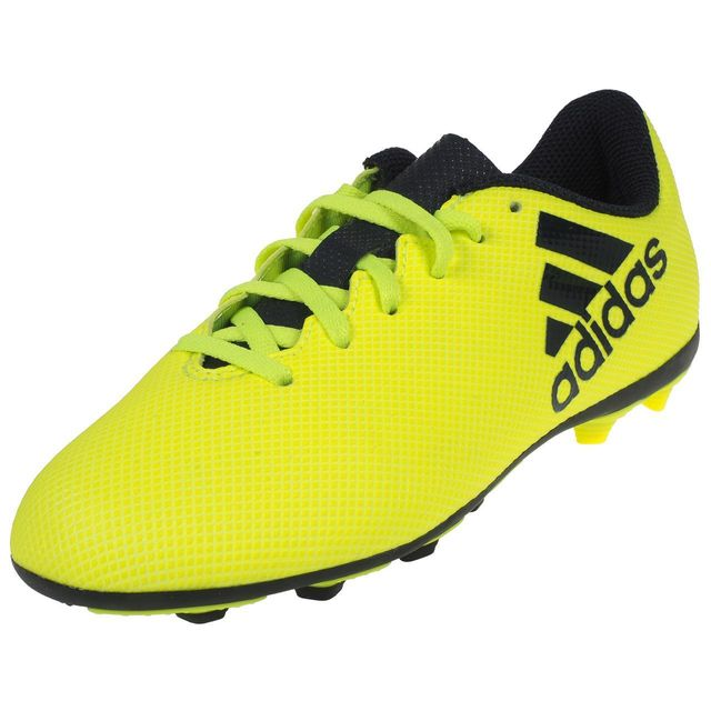 c75721df8192 Adidas - Chaussures football moulées X 17.4 junior fxg Jaune 74840 ...