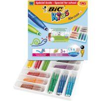 Bic Kids - feutres kid couleur xl coloris assortis - classpack de 96