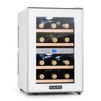 KLARSTEIN - Reserva cave à vin 34 litres 12 bouteilles 2 zones 11-18°C classe B