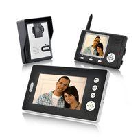 Shopinnov - Interphone audio et vidéo sans fil avec 2 récepteurs