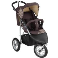 Knorrbaby - Knorr-baby 883960 Joggy S Poussette Sportive Style Buggy À 3 Roues Pneumatiques Chocolat/BEIGE
