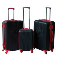 LEE COOPER - Set de 3 valises rigides PATCH - ABS - Noir