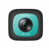 Qimmiq - Caméra 360° Double Lentille Vr360 Menthe