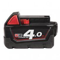 Milwaukee - Batterie M18 B4 M18 Red Lithium 4.0AH