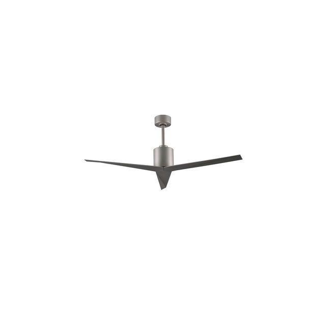 Boutica design Ventilateur de plafond Eliza 142cm Nickel