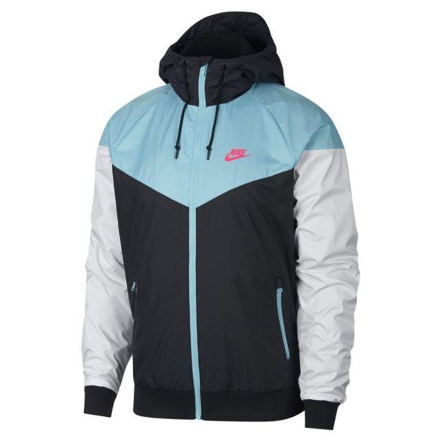Nike Veste coupe vent Windrunner 727324 015 pas cher