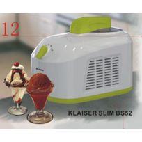 KLAISER - TURBINE A GLACES SLIM BS52 Avec livre 62 recettes