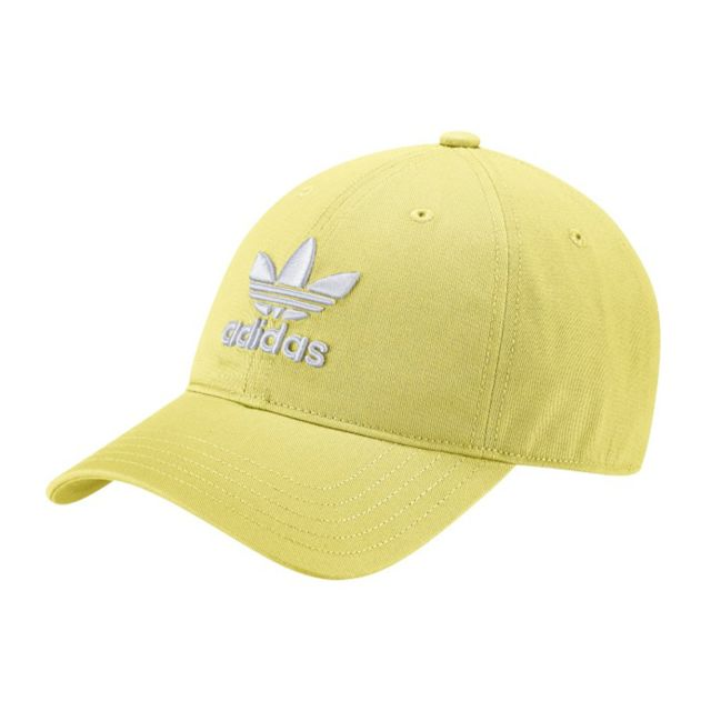 cd29d5218f Adidas - Trefoil Classic Cap Cd6974 Jaune Taille unique - pas cher Achat /  Vente Casquettes, bonnets, chapeaux - RueDuCommerce