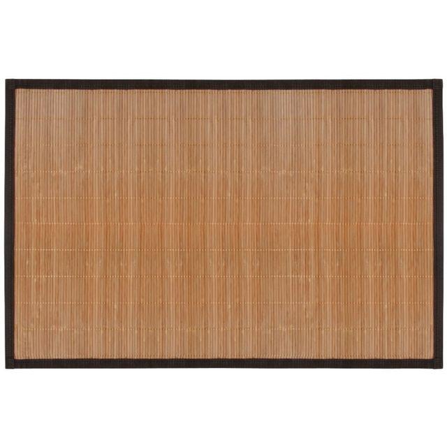 planetebain tapis de bain en bambou fonc pas cher. Black Bedroom Furniture Sets. Home Design Ideas