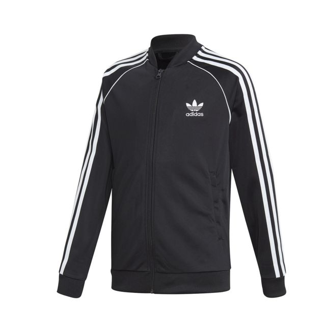 Adidas originals - Veste de survêtement Superstar Jacket - Dv2896 - pas  cher Achat   Vente Survêtement enfant - RueDuCommerce 039d12040a8