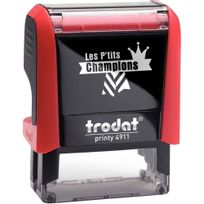 "Printy - tampon les p'tits champions, formule ""champion excellent"