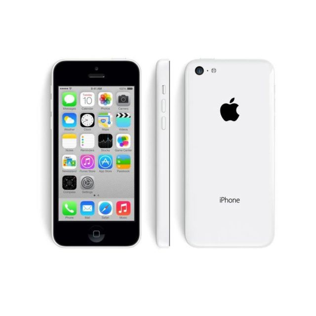 destockage apple iphone 5c 16 go blanc reconditionn. Black Bedroom Furniture Sets. Home Design Ideas