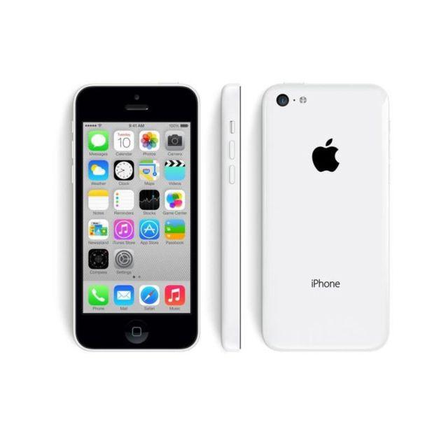 destockage apple iphone 5c 32 go blanc reconditionn pas cher achat vente smartphone. Black Bedroom Furniture Sets. Home Design Ideas