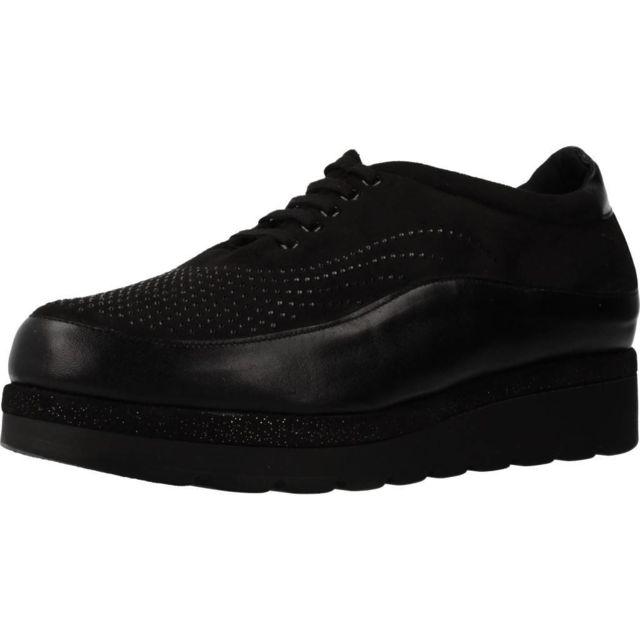 Trimas Menorca Mocassins et chaussures bateau femme 1361T, Noir