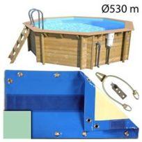 Bache d hivernage piscine hors sol achat bache d for Piscine center o clair