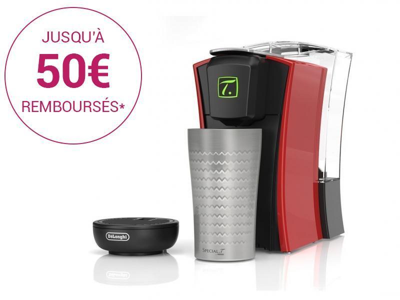 Machine à thé SPECIAL T - TST400.R - Noir/Rouge