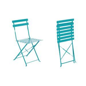 HESPERIDE - Chaise de jardin métal pliante Camargue Lagon 1 - pas ...