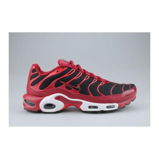 Nike Air Max Plus Tn Noir Rouge pas cher Achat Vente