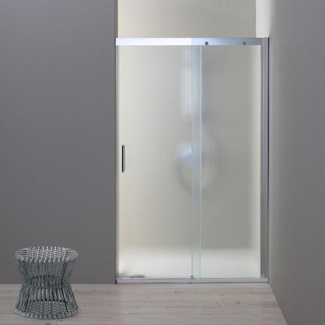 kiamami valentina porte de douche en niche 140 cm dream c t fixe droite verre satin pas. Black Bedroom Furniture Sets. Home Design Ideas