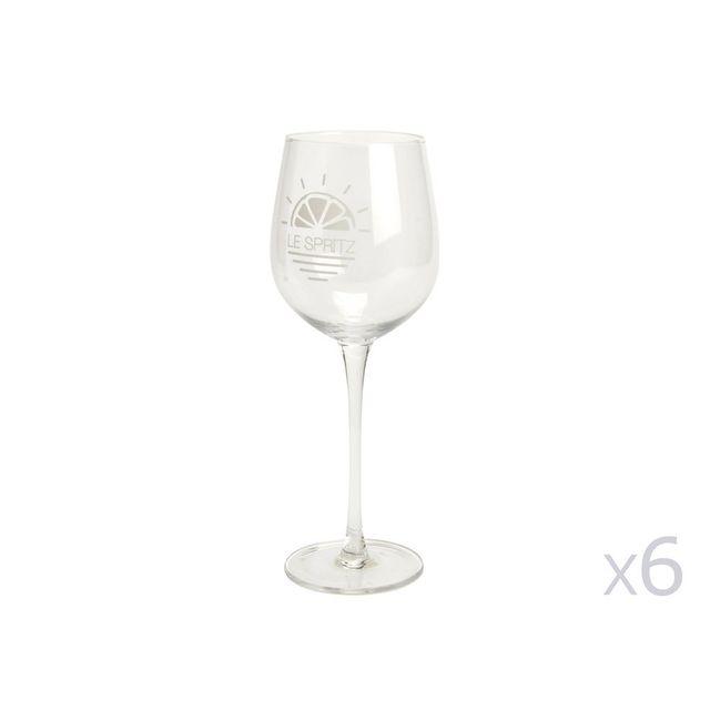 Amadeus Verre à pied pour cocktail Spritz H.23xm - Coffret de 4 pièces Cocktail