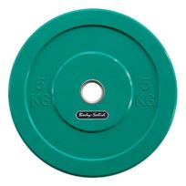 Bodysolid - Disque olympique Body-Solid Rubber Obpck 5 kg vert