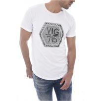 George V Records - Tee Shirt Stretch Motif Strassé Gv08 - George V