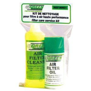 green kit de nettoyage filtres mini nettoyant 500ml huile 50ml nh02 pas cher achat. Black Bedroom Furniture Sets. Home Design Ideas