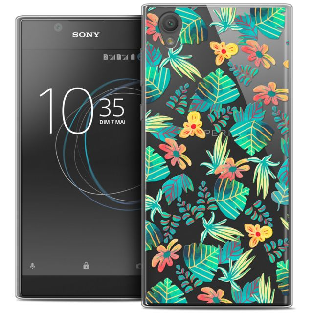 caseink coque housse etui sony xperia l1 5 5 crystal gel hd collection spring design. Black Bedroom Furniture Sets. Home Design Ideas