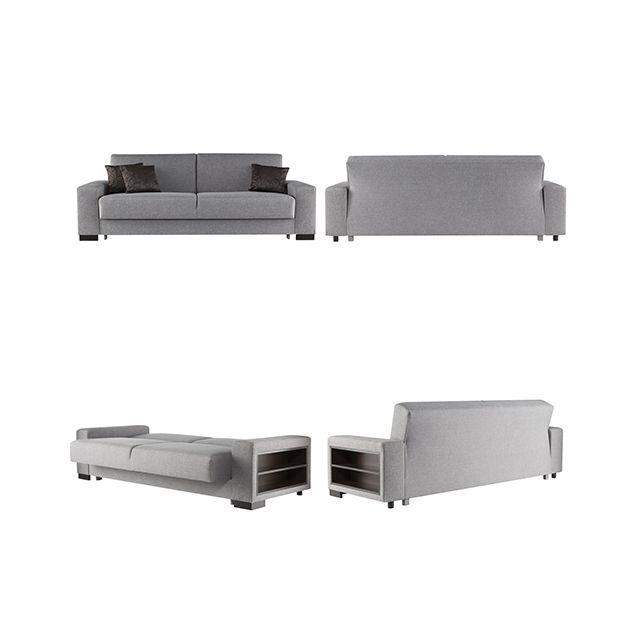 Sofa Story - Canapé convertible Escalade - Tissu 98cm x 85cm x 233cm - Réversible