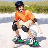 Totalcadeau - Casterboard skateboard boost 2 roues, 1 housse de rangement