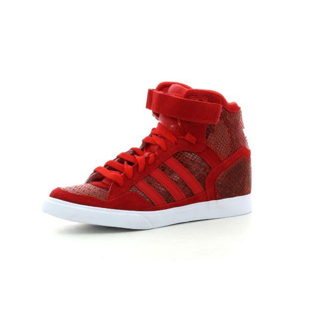 Adidas originals Baskets montantes Extaball Up Rouge Baskets