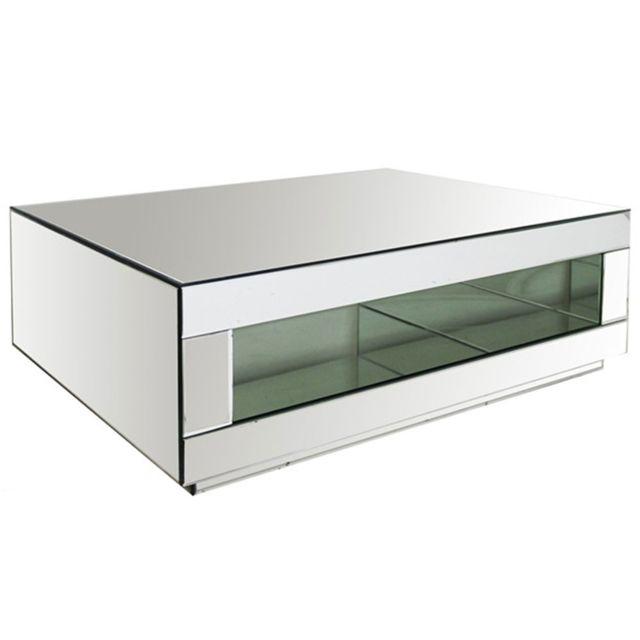 meilleure sélection a27b0 a7d01 Lekingstore - Table basse miroir Lara - pas cher Achat ...