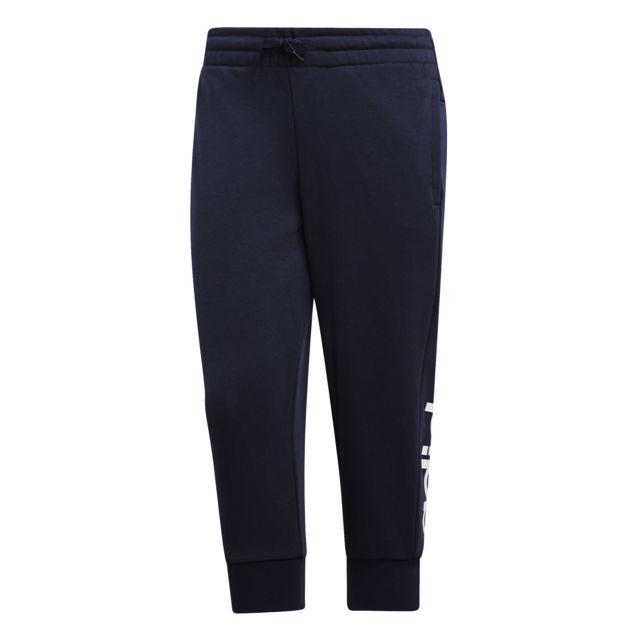 Adidas Pantalon femme 34 Essentials Linear pas cher
